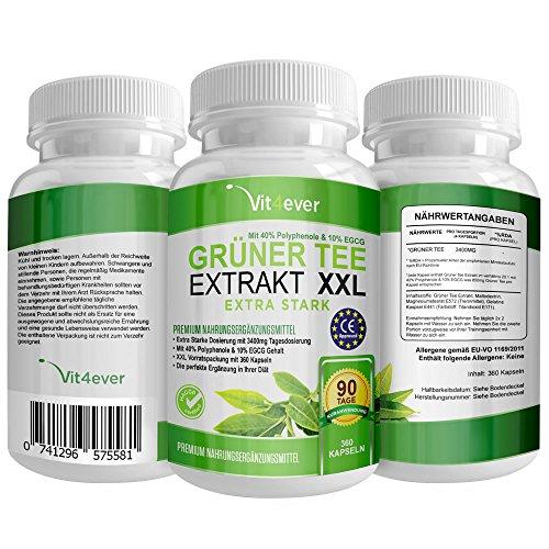 741296575581 Upc Vv072 Gruner Tee Extrakt Green Tea Hochdosiert