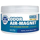 Natural Magic Air Purifying Charcoal Odor Eliminator for Car Closet Bathroom and Pet Area Captures and Absorbs Smoke Odors - 8 Ounce - Charcoal Smoke and Smell Absorber