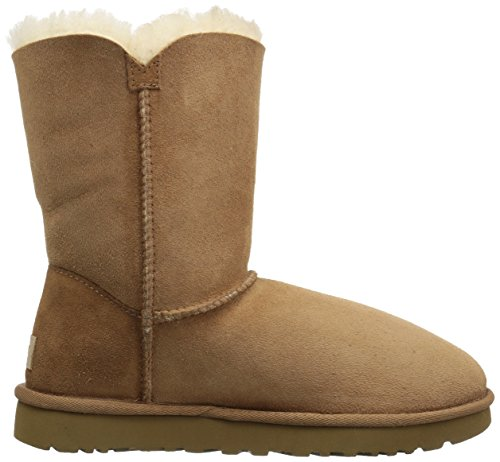 Botines mujer Tan para Ugg Classic Mini planos qwWzxE74Rn