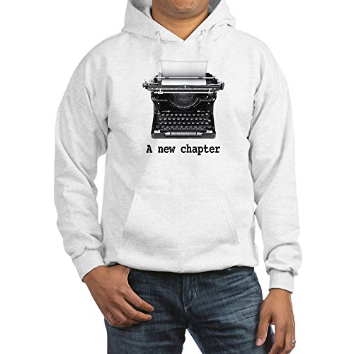 CafePress New Chapter Pullover Hoodie, Classic & Comfortable Hooded Sweatshirt White