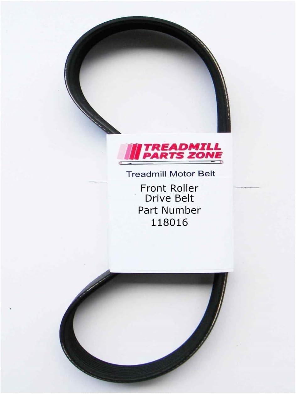TreadmillPartsZone Replacement for Pro Form Crosswalk 380X Treadmill Model DTL32940 Motor Belt Part 118016