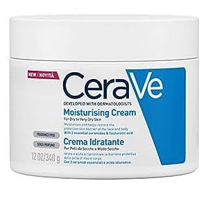 CeraVe Crema Hidratante, 340gr.