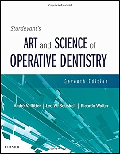 Sturdevant's art and science of operative dentistry 5th edition.