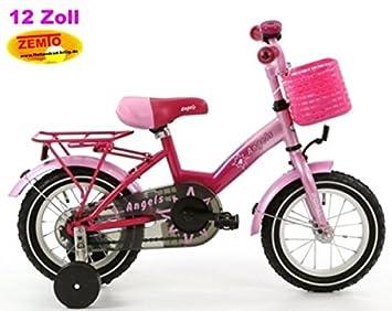 6fbcfbcd6 Bicicleta holandesa para niña 12 pulgadas poza Angel Rosa: Amazon.es:  Deportes y aire libre