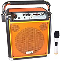 EMB PLK500 8 Rechargeable Portable Wireless Bluetooth Speaker 500w 7 HOUR Battery Life (Orange)