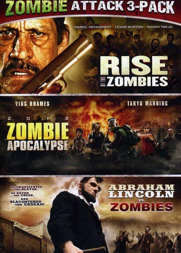 Zombie Triple Feature (Abraham Lincoln Vs. Zombies / Zombie Apocalypse / Rise Of The -