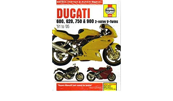 h3290 haynes ducati 600 750 900 2 valve v twins 1991 2005 motorcycle rh amazon com Ducati Monster 750 Parts 2000 Ducati Monster 750 Wheelies