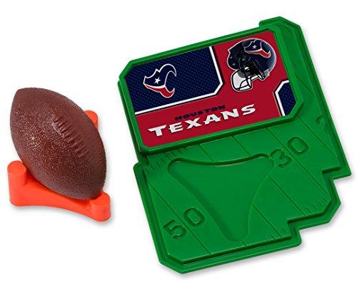 CAKEMAKE NFL Football & Tee, Cake Topper, Houston
