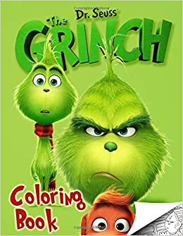 Grinch Coloring Book: Exclusive High Quality Images Inpired ...
