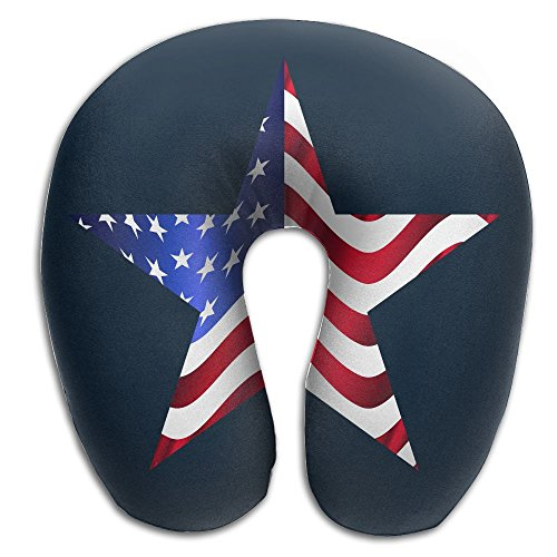 Lesi Yes U Shaped Neck Pillow Memory Foam Soft US American F
