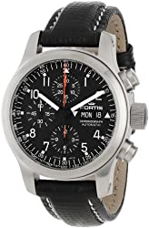 Fortis Men's 635.10.11 L.01 B-42 Pilot Professional Swiss Automatic Chronograph Tachymeter Day Date Watch