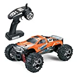 RC Car, Toysport SOMMON SWIFT High Speed 32MPH 4x4 Fast Race Cars1:24 RC SCALE RTR Racing 4WD ELECTRIC POWER BUGGY W/2.4G Radio Remote Control Off Road Cross Country Vehicle Powersport, Orange
