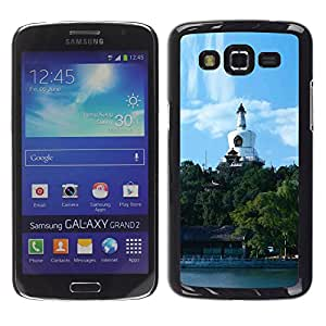 Exotic-Star ( Beijing Beihai Park ) Fundas Cover Cubre Hard Case Cover para Samsung Galaxy Grand 2 II / SM-G7102 / SM-G7105