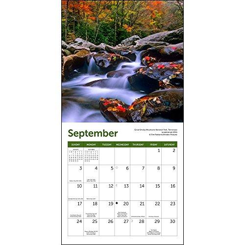 America's National Parks Mini Wall Calendar 2017