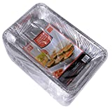 Daxwell Disposable Aluminum Steam Table Pan, Deep, Full Size (2 Packs of 25)