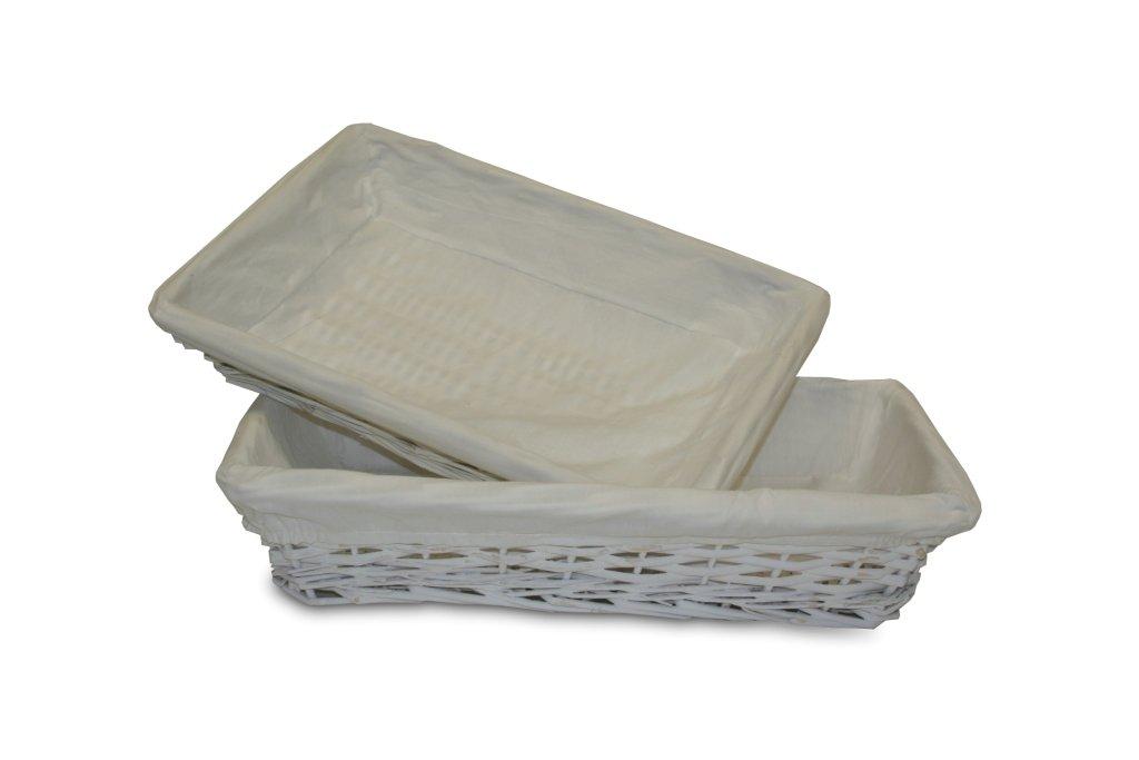 Vassoio Vimini tessuto bianco 44_cm BUAR ARTESANOS