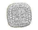 Round White Genuine Diamond Hip Hop Men's Single Stud Earrings 14K Solid Yellow Gold (0.70 Cttw)