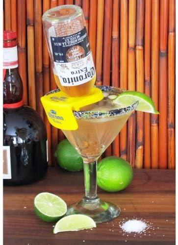 CoronaRita Drink Clips - For Margarita Glasses - Pack of 6 by Corona