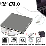 External DVD CD Drive USB3.0 NOLYTH USB C Superdrive DVD+/-RW CD+/-RW...