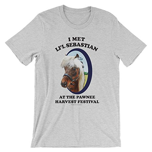 NBC Parks and Recreation Lil' Sebastian Adult Classic T-Shirt - Athletic Heather - X-Large
