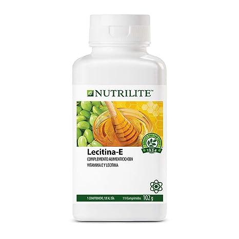 Lecitina E de NUTRILITE -110 comprimidos/102 gr. La vitamina E es un