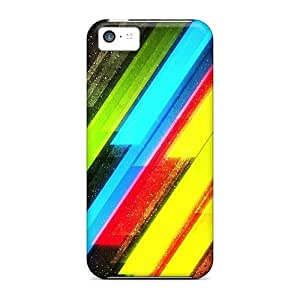 Premium Protection Bright Lights Case Cover For Iphone 5c- Retail Packaging