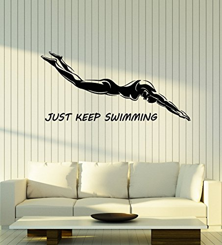 Top 10 swimming quotes wall stickers for 2019