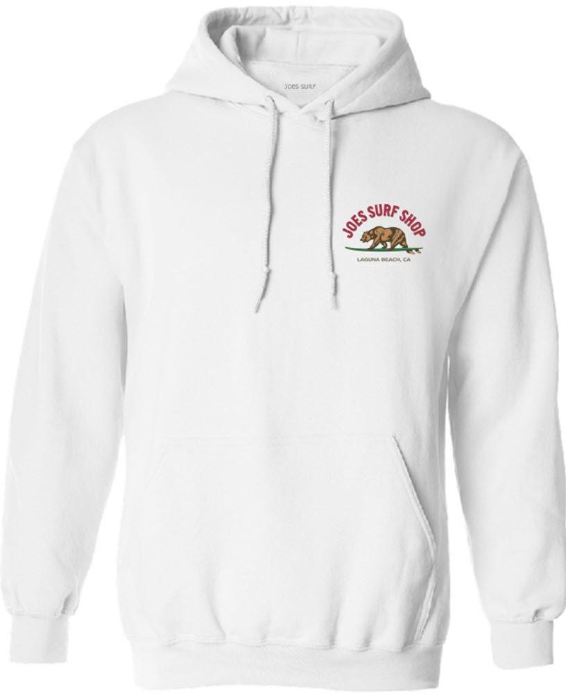 Joe's USA SHIRT メンズ B073Z7269Z S|White/C Pullover Hoodie 50/50 Cotton/Poly Hooded Sweatshirt White/C Pullover Hoodie 50/50 Cotton/Poly Hooded Sweatshirt S