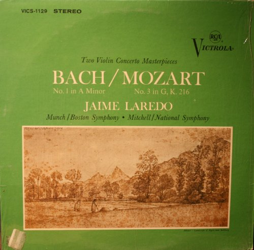 Bach/ Mozart: Two Violin Concerto - Mall Laredo