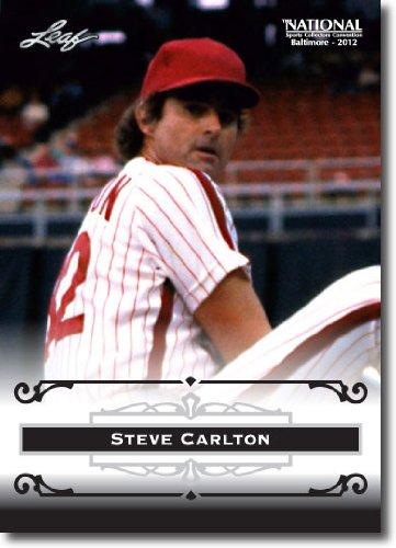 2012 Leaf HOF Baltimore National Sports Collector Promo #SC1 Steve Carlton - Philadelphia Phillies (Baseball Hall of Fame)(Collectible Trading Card) ()