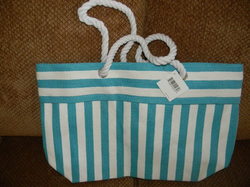 new-summer-2012-nordstrom-exclusive-woven-straw-large-striped-tote-bag-color-blue-white