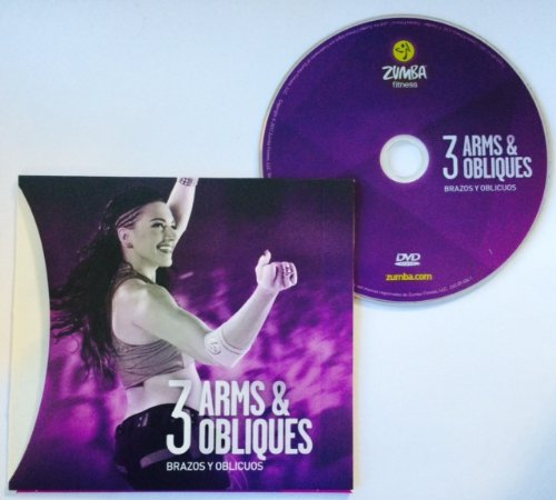 Zumba Fitness Arms & Obliques DVD From The Target Zone DVD Set! Spanish/English!