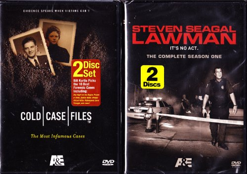 (Cold Case Files : The Most Infamous Cases , Steven Seagal Lawman : Complete Season One : 2 Pack : 4 Disc Set - Over 10 Hours)