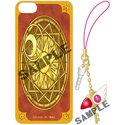 CARDCAPTOR SAKURA Clow Card iPhone5/5s Case & Strap Mobile Set