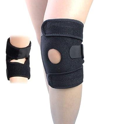 3a84c1aecd Pumpkino Pro Knee Brace Support Compression Sleeve - Adjustable Open  Patella Dual Stabilizers Non Slip Comfort