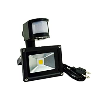 led motion sensor light 750lm glw 10w pir flood light outdoor security light - Led Motion Sensor Light
