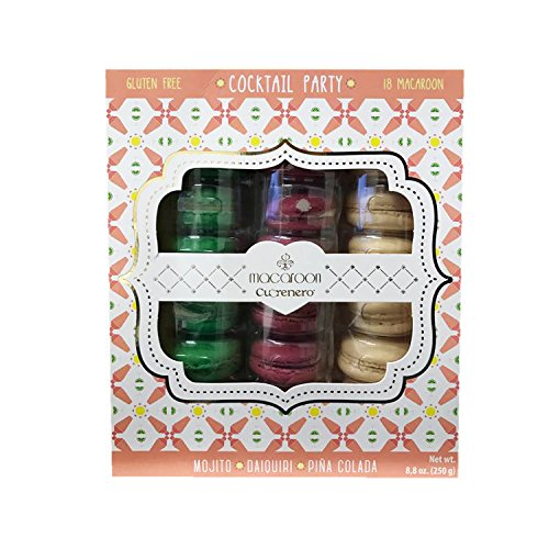 Cuorenero Gluten Free Macaroon Special Flavor Gift Set (Cocktail Party)