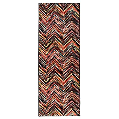 Ottomanson Rainbow Collection Non-Slip Modern Children's Abstract Pattern Design Kitchen Runner Rug -  - runner-rugs, entryway-furniture-decor, entryway-laundry-room - 51mwQbzKWnL. SS400  -