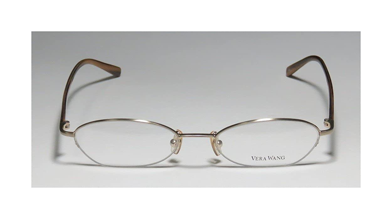 Vera Wang V138 Womens//Ladies Designer Half-rim Demo Lens Casual Made In Japan Eyeglasses//Glasses
