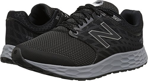 New Balance Men's 1165v1 Fresh Foam Walking Shoe, Black/Silver, 10.5 2E US -