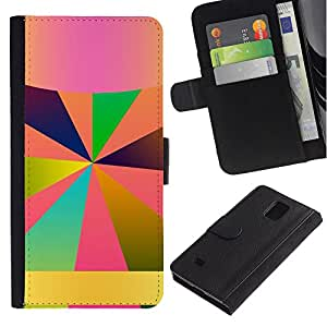 All Phone Most Case / Oferta Especial Cáscara Funda de cuero Monedero Cubierta de proteccion Caso / Wallet Case for Samsung Galaxy Note 4 IV // Android Name Here Lines