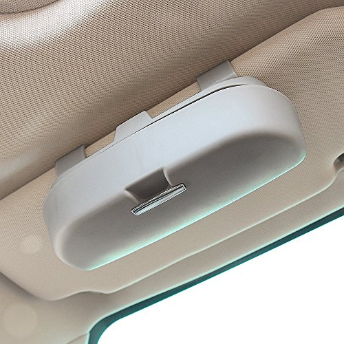 Auto Car Eyeglasses Clip Ticket Card Clamp Car Glasses Cases Car Sun Visor Sunglasses Holder Accessories Grey