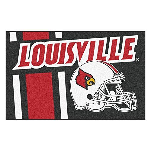 University of Louisville Custom Logo Starter Rug