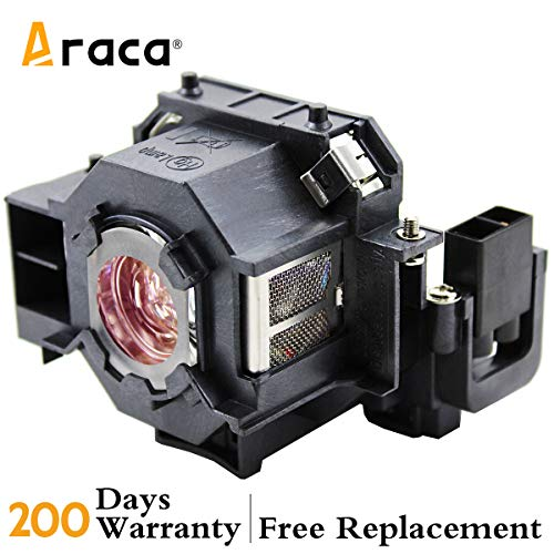 ELPLP42 V13H010L42 Projector Lamp with Housing for Epson EMP-83 EMP-400WE PowerLite 83+ PowerLite 83c H330a Replacement Lamp by Araca