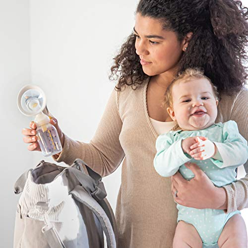 51mwRUnMF0L - New Medela Harmony Manual Breast Pump, Single Hand Breastpump With Flex Breast Shields For More Comfort And Expressing More Milk