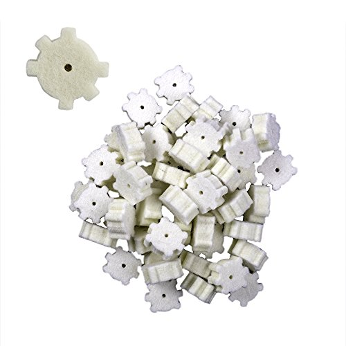 Real Avid .223/5.56 Star Chamber Cleaning Pads 50 Pack Cleaning Stars