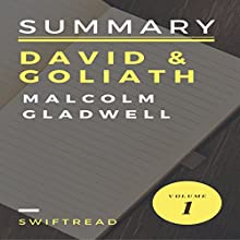Summary: 'David & Goliath' by Malcolm Gladwell Audiobook by  Swiftread Narrated by Pete Beretta