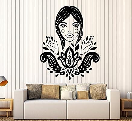 Amazon com: DesignToRefine Vinyl Wall Decal Lotus Beautiful