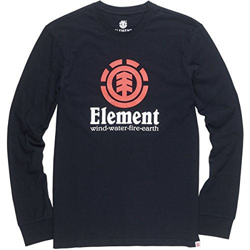 Element Boardshorts - Element Men's Vertical Long Sleeve Tee Flint Black Xl
