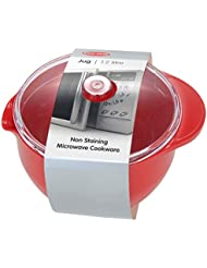New Easy Cook Microwave Red Jug And Lid 1.2L